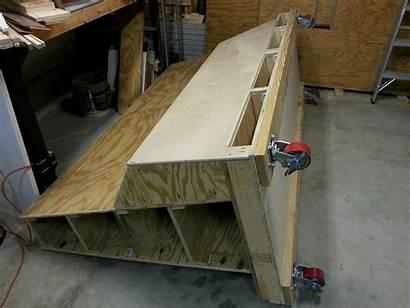 Lumber Cart Storage Drawers Plans Wood Plywood