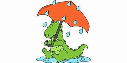 Wet Clipart Weather Person Rain Clothes Clip