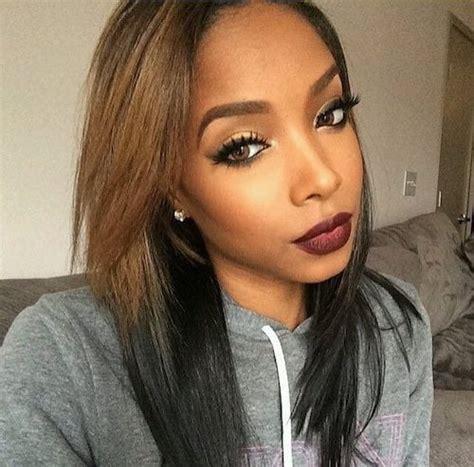 hair color  dark skin  black women