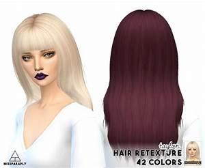 Sims 4 Hairs Miss Paraply Ade Hair Retextured