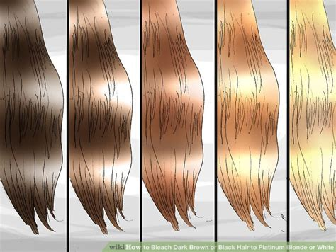Brown Hair Or Black Hair by How To Brown Or Black Hair To Platinum