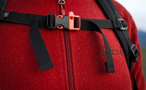 whistle sternum strap  backpack accessories tom bihn