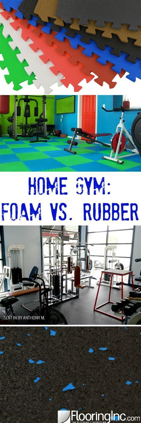 Home Gym: Foam vs Rubber   FlooringInc Blog
