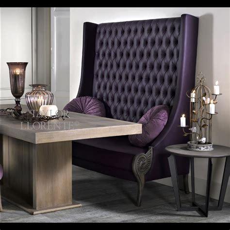 upholstered high  bench taylor llorente furniture