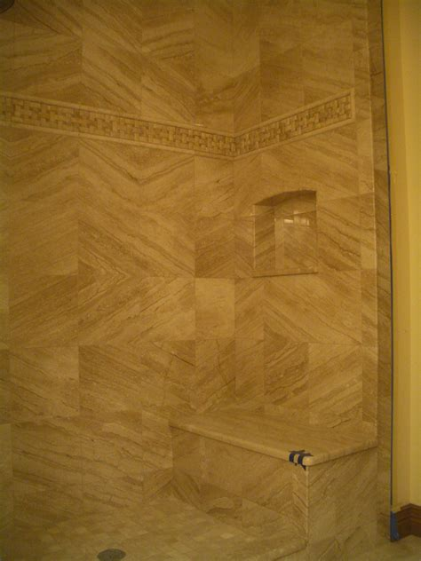 tile niches shower how to build a niche for your shower part 4