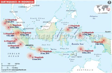 historic earthquakes  indonesia geography indonesia
