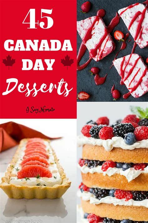 canada day desserts   nomato