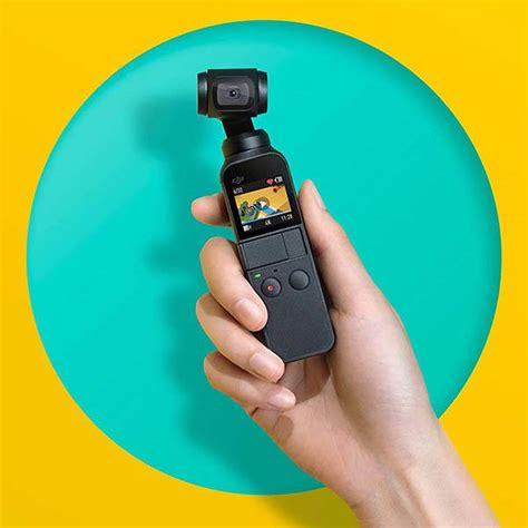 dji osmo pocket handheld camera   axis gimbal stabilizer gadgetsin