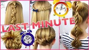 Coole Mädchen Frisuren : 5 x 3 minuten frisuren last minute coole frisuren auf die schnelle youtube ~ Udekor.club Haus und Dekorationen