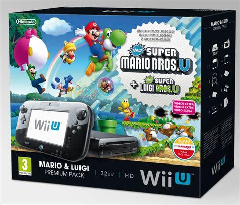 Compra juegos de nintendo switch al mejor precio ⭐ compara entre todas las ofertas y descuentos review y opiniones de otros usuarios.la nintendo switch es una de las videoconsolas más novedosas del momento. Nintendo anuncia tres nuevos packs de Wii U para Navidades - AS.com