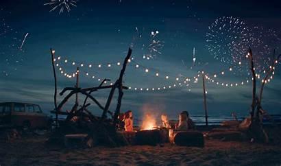 Cinemagraph Firework Re Beach Chillaxing