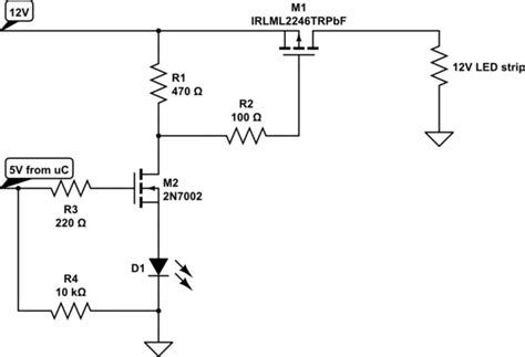 Failure Burnt Mosfet The Following Circuit Why