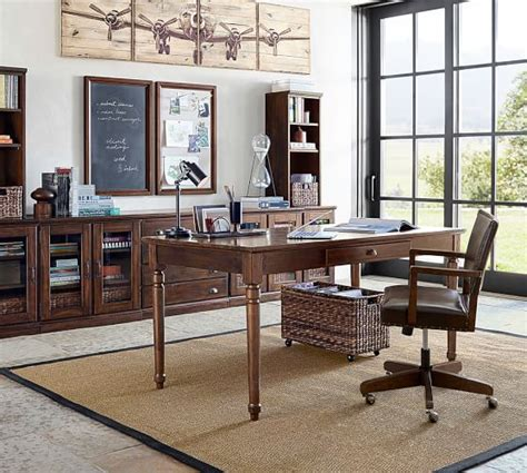 pottery barn office furniture printer s large home office suite pottery barn