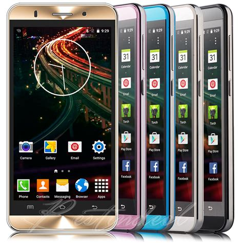 fingerhut cell phones 5 quot 3g unlocked android at t t mobile cell phone smartphone