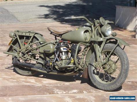Harley Davidson Wla For Sale by 1942 Harley Davidson Wla Cut Away For Sale In Canada