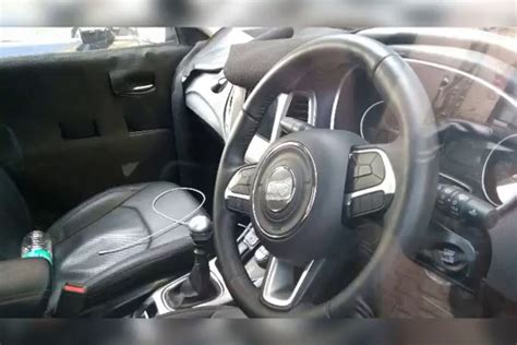 jeep compass 2017 interior 2017 jeep compass interior spy shot indian autos blog