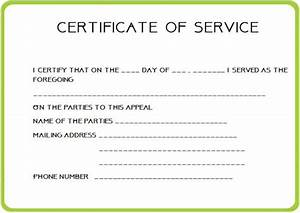 24 certificate of service templates for employees formats With employee certificate of service template