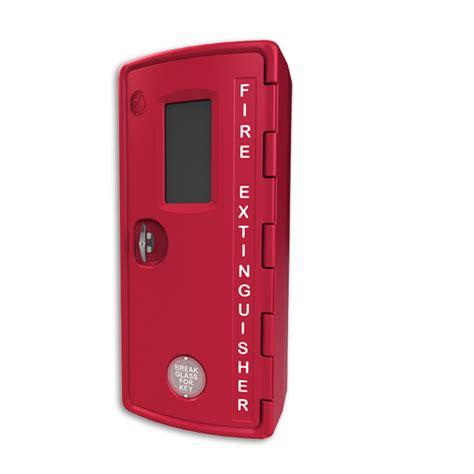 fsp cfe bm   lbs plastic fire extinguisher cabinet