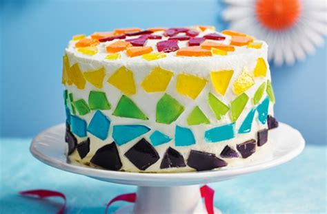 glass cake decoration stained glass cake recipe goodtoknow