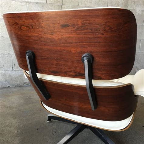 rosewood and ivory herman miller eames lounge