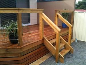 Image Gallery deck stairs
