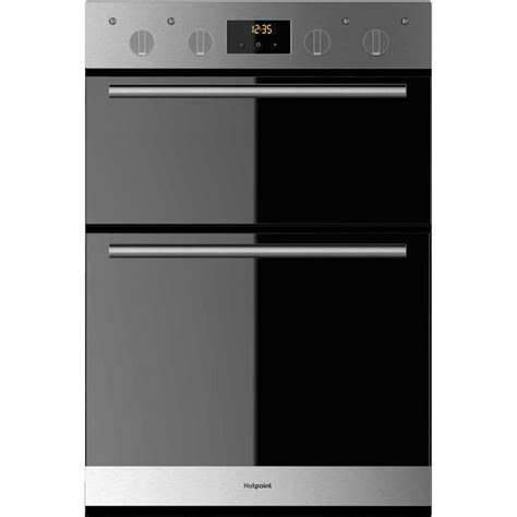 Hotpoint DD2540IX Built In Double Oven   Preslec