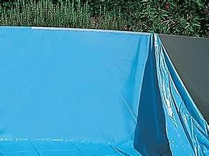 Liner Piscine Hors Sol Ovale : liner uni bleu overlap softpool 30 100eme piscine hors sol ~ Dode.kayakingforconservation.com Idées de Décoration