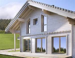 Maison Bois Contemporaine : constructeur maison bois contemporaine maison bois swiss3000 ~ Preciouscoupons.com Idées de Décoration