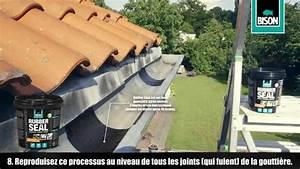 Réparer Une Gouttière En Zinc : bison rubber seal r parer une goutti re youtube ~ Premium-room.com Idées de Décoration