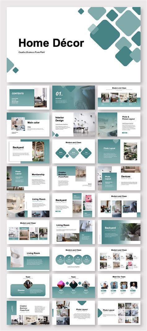 creative home decor  template original