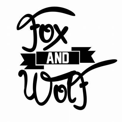 Wolf Fox Typography Deviantart