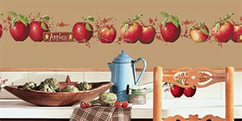 Apple Kitchen Decor Themes Products by Use Apple Wall Decals To Decorate An Apple Kitchen Apple
