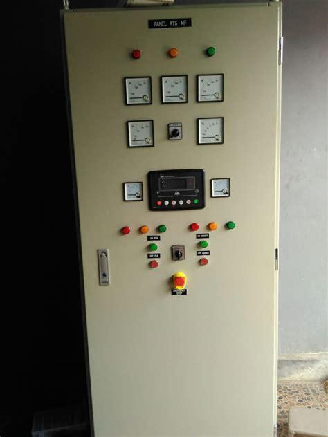 harga panel otomatis genset ats amf jasa pembuatan panel listrik