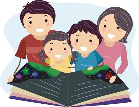 family reading together clipart family literacy day january 27 st catholic