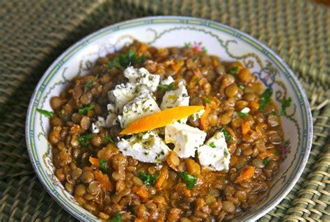 Lentil Soup With Olive Oil And Orange (greek Island Of