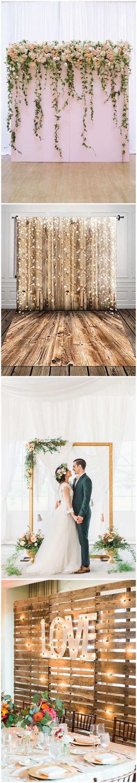 30 Unique and Breathtaking Wedding Backdrop Ideas Düğün