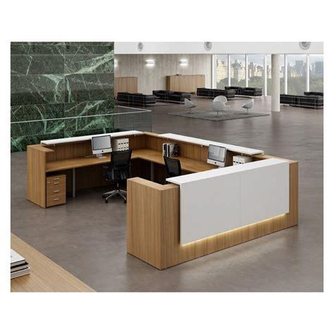 banque d accueil bureau banque d accueil z2 l 126 cm mobilier de bureau