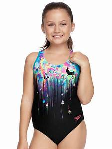 Speedo Mer Squad Girls One Piece