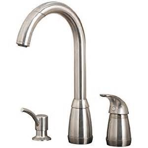 price pfister 52650ss contempra single handle kitchen faucet with pull spout sprayer and - Price Pfister Contempra Kitchen Faucet