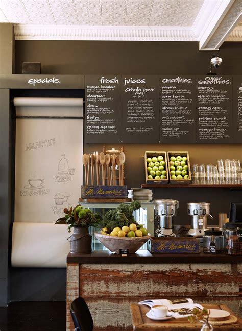 Store displays supermarket design bakery design decor grocery store design vegetable shop cafe design fruit shop coffee shop. Bloom Cafe - Commercial Interior Design by Hare + Klein (With images)   Coffee shops interior ...