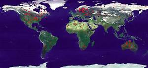 Interactive Map of Terrestrial Impact Craters