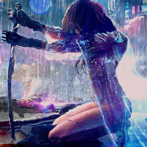 cyberpunk girl wallpaper engine cyberpunk girl girl