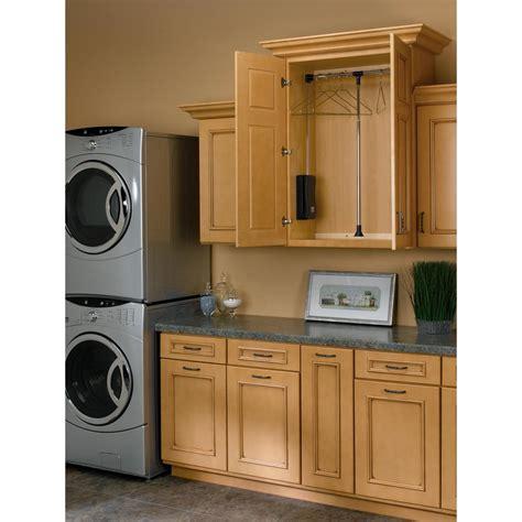rev a shelf 35 in 48 in adjustable pull closet