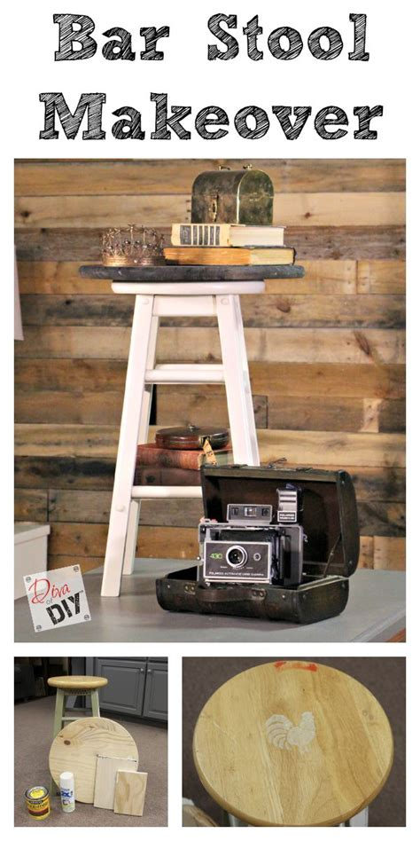 Bar Makeover by How To Hack An Bar Stool
