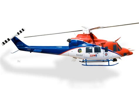 Bell 412 Queensland Emergency Services Model Helicopters