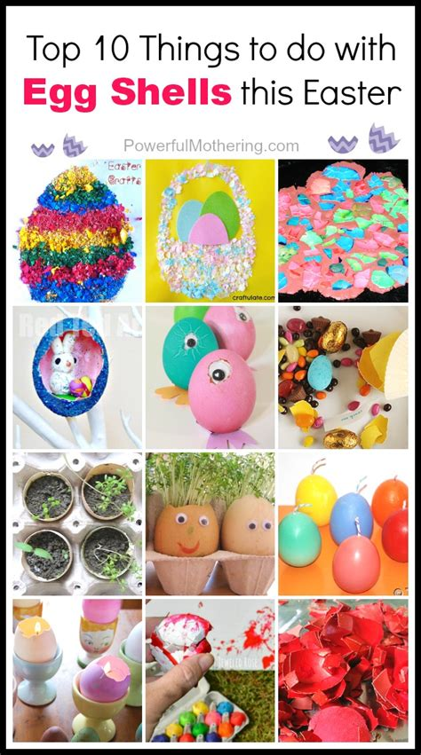 things you can make with eggs top 10 things to do with egg shells this easter