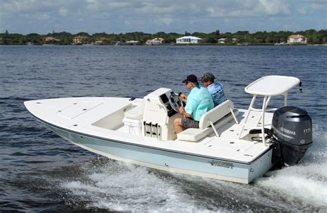 Where Are Hewes Boats Made by Hewes Redfisher 18 Florida Sportsman