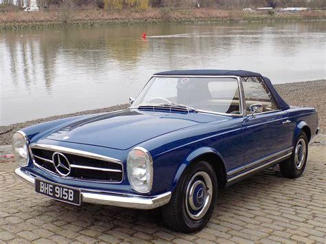 Mercedes Classic Car by Classic Chrome Mercedes 230 Sl Pagoda Sports 1964