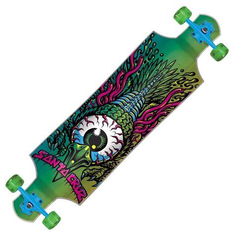 santa cruz skateboards eagle eye drop down complete