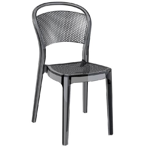 bruneau materiel bureau chaise design 39 39 transparente en matière